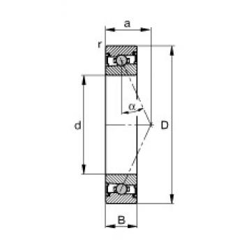 FAG HCS71904-E-T-P4S angular contact ball bearings