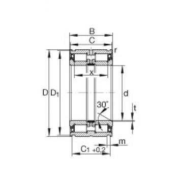 INA SL045036-PP cylindrical roller bearings