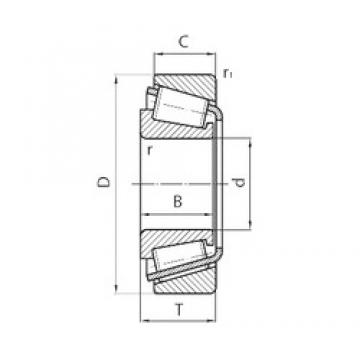 FAG 580379 tapered roller bearings