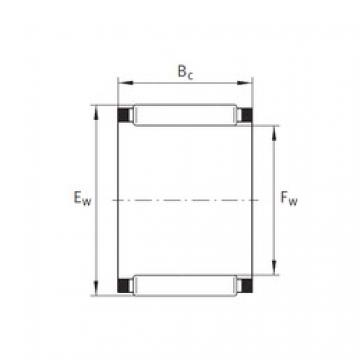 INA K38X46X20 needle roller bearings