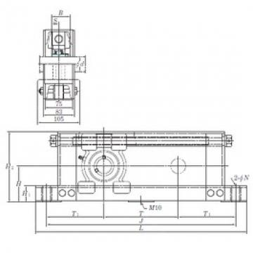 KOYO UCTU314-500 bearing units