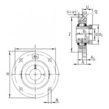 INA TME65-214 bearing units