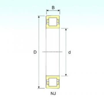 ISB NUP 2324 cylindrical roller bearings