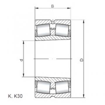 ISO 22228 KW33 spherical roller bearings