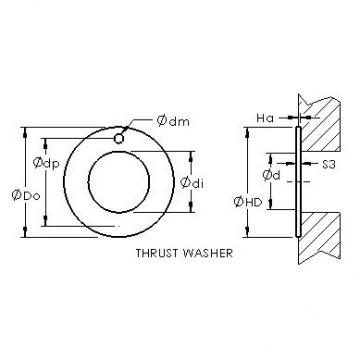 AST ASTEPBW 2644-015 plain bearings