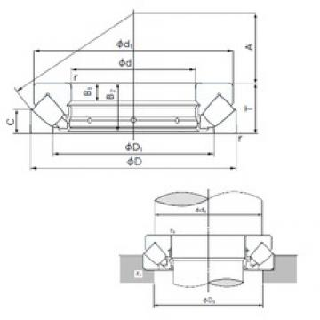 NACHI 29420E thrust roller bearings